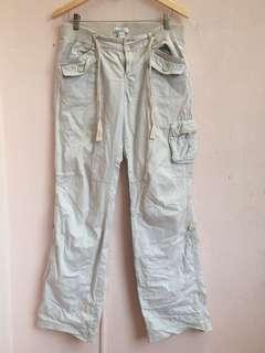 Mango Womens Khaki Pants