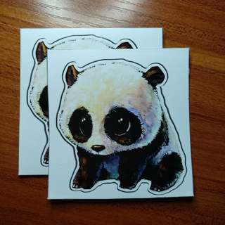[RESTOCKED!] Cute Animal Decal Quality Stickers