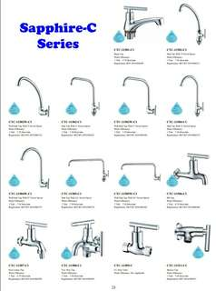 "*Sink Faucet,  *Basin Rubinetterie,  *2Way Bib tap,  *Washing Machine Tap w""nozzle, *Bidet Spray angle-valve,  *Heater stopcock tap,"