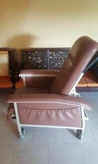 Senior hospital grade reclining chair