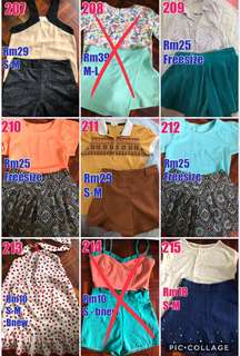 1 pair clothes for women