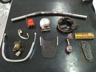 HONDA CB160 ACCESSORIES & PART
