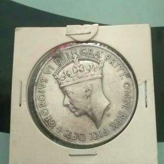 Medal Malaya Silver 100%