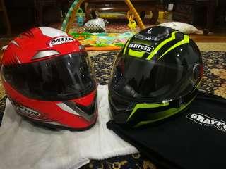 Helmet untuk diswap atau jual