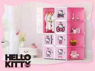 MAY 18 HELLO.KITTY DIY CABINET (ASY)