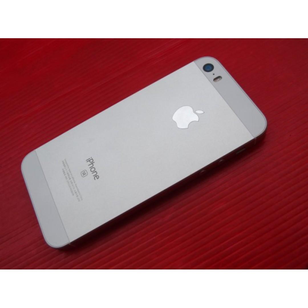 ※銀色 Apple iPhone SE 16G 原廠保2017/7/1 保存好機況新 ※換機優先