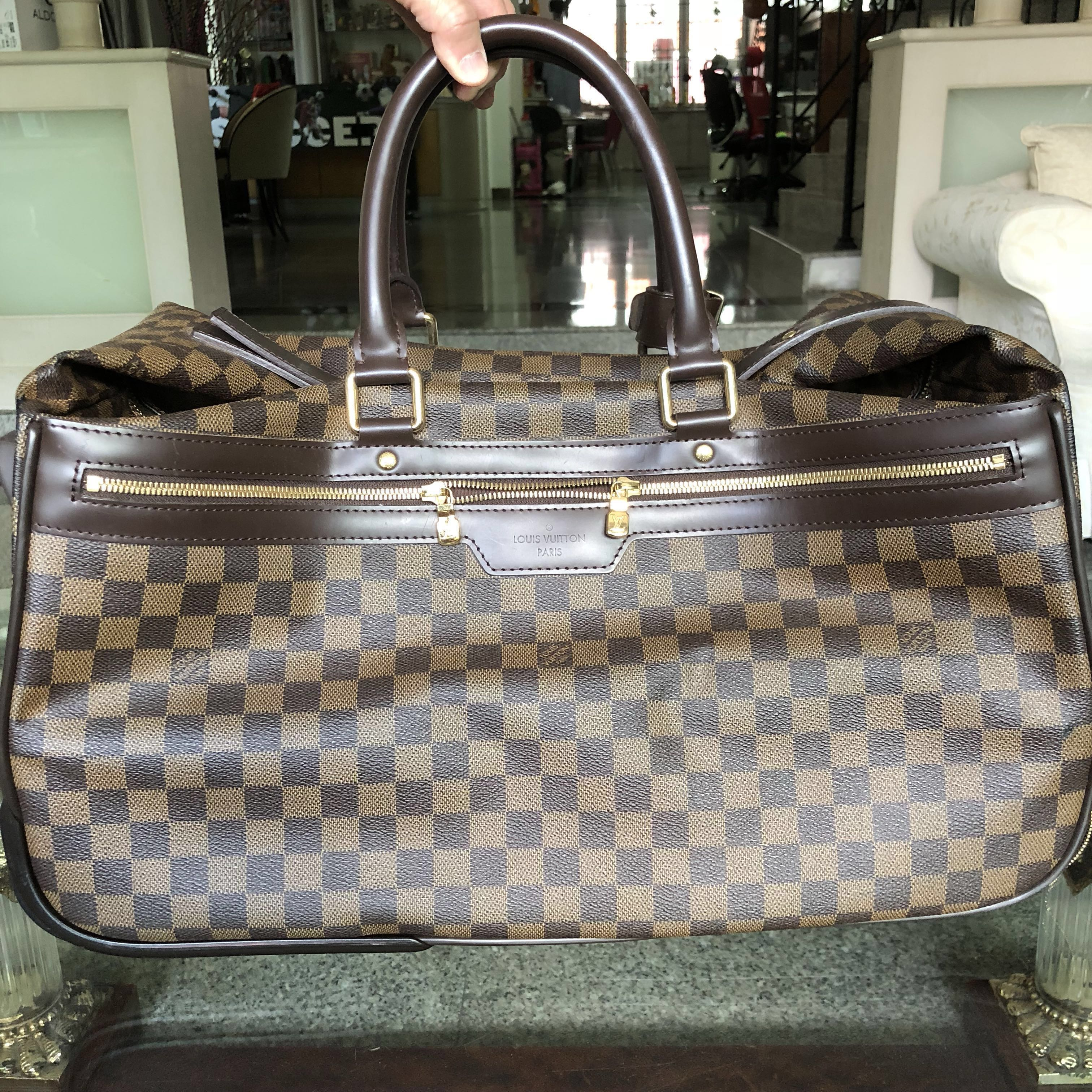 0f9bd62868b3 💯 authentic LV Damier Ebene Canvas Eole 50 Rolling Luggage   cabin bag -  DISCONTINUED!!