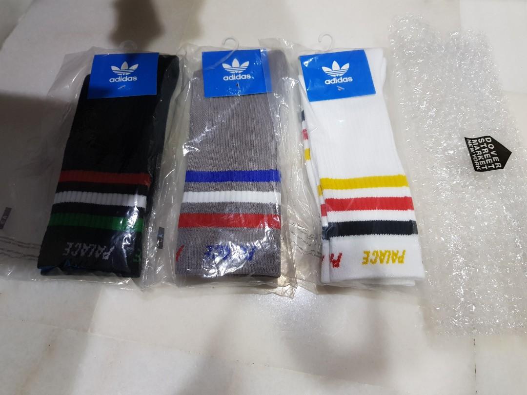 533043c5 Adidas x Palace Socks Size M (40-42), Men's Fashion, Footwear ...
