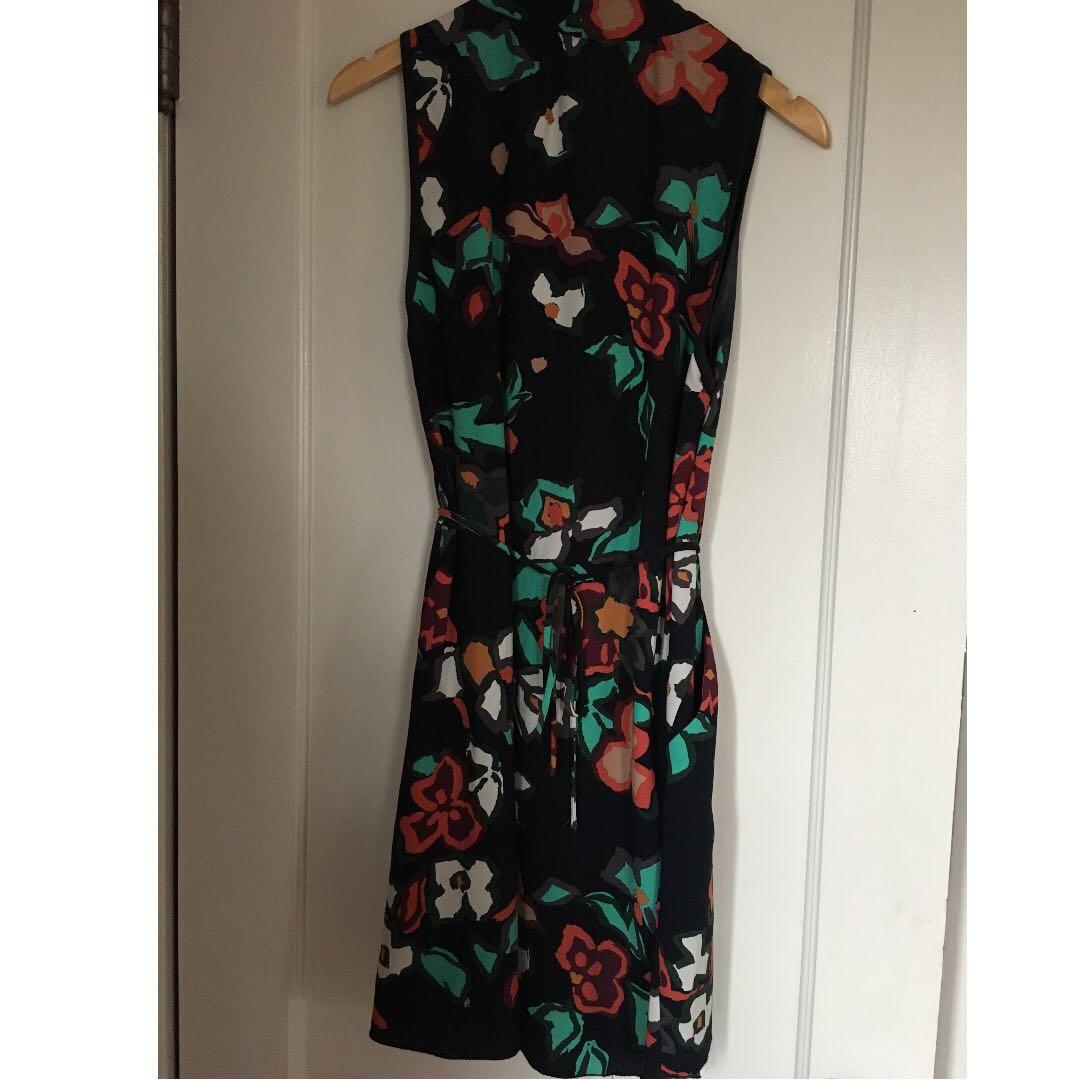 Aritzia Wilfred Sabine Dress - Floral (Size Large)
