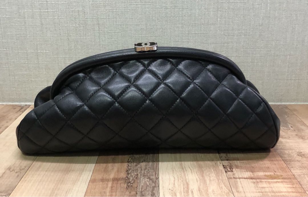 a47e5fea25f2 Chanel Clutch Bags Patent Leather Black Ref 59542 Joli. Photo. Authentic Chanel  Clutch Bag Women S Fashion Bags Wallets On