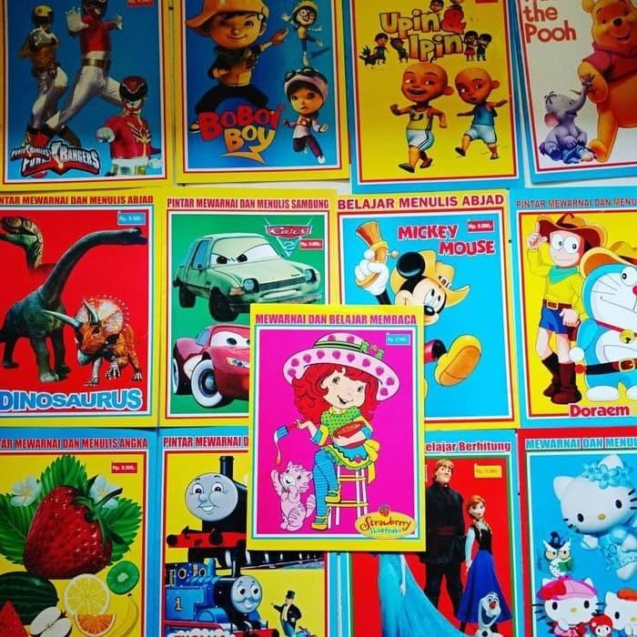 Buku Mewarnai Murah Books Stationery Childrens Books On Carousell