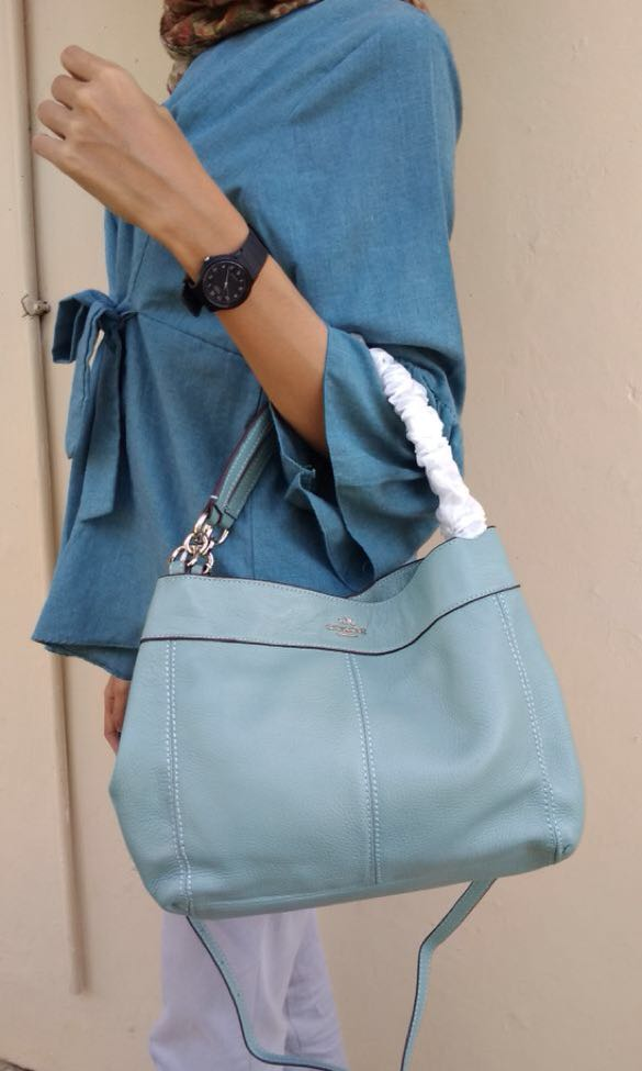 COACH PEBBLED LEATHER BAGUS BGT RECOMMENDED ADA 3 WARNA CAKEP2 ... 1c4f62c4d8