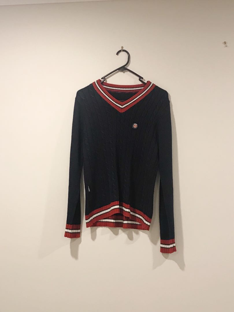 Dark Navy knit