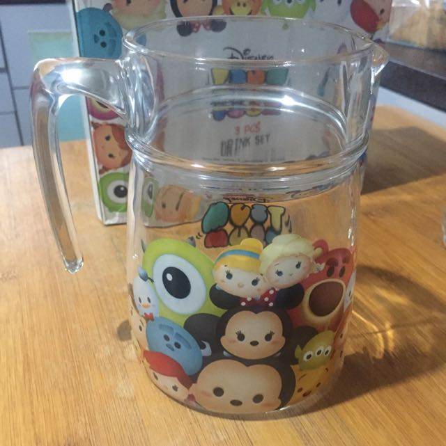 Disney Tsum Tsum Drink Set