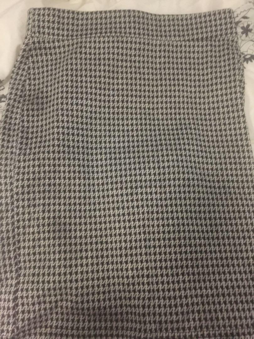 Gingham skirt 8