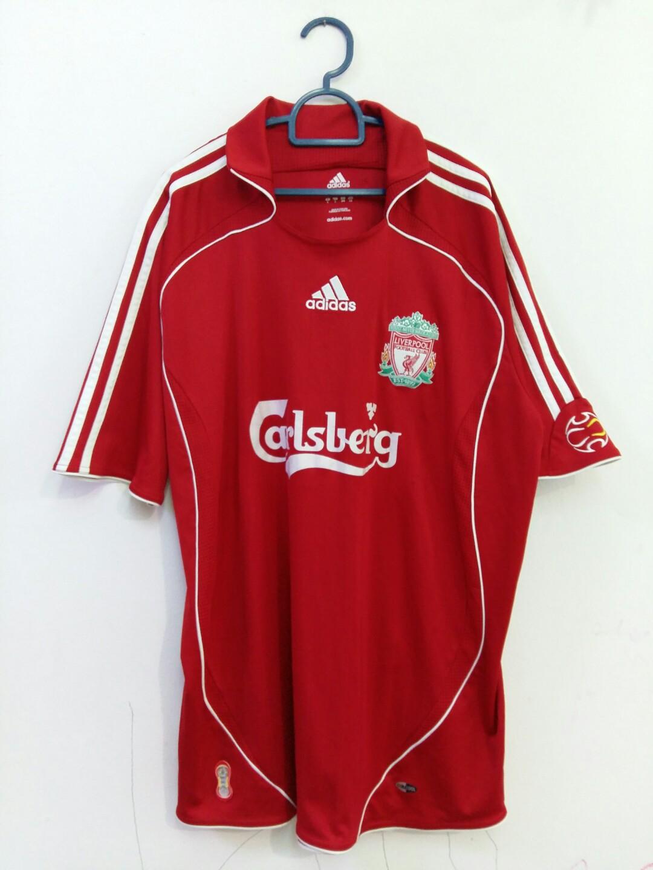 db8f2796c42 Liverpool adidas home football jersey