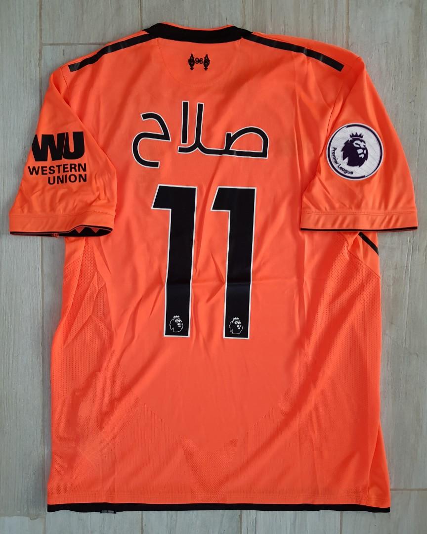 detailing 5697d 342ab Liverpool Mo.Salah arabic jersey, Sports, Sports Apparel on ...