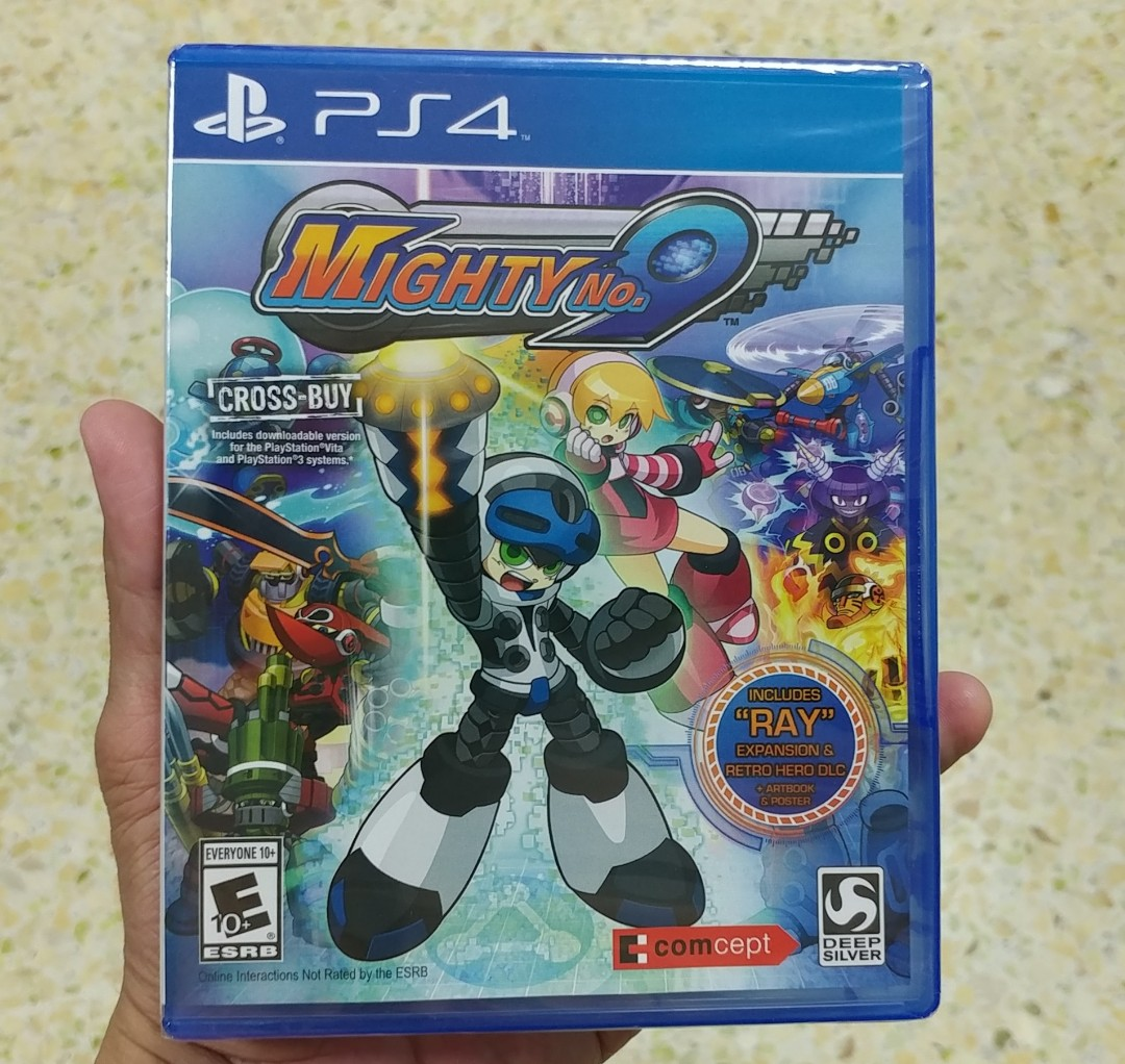 Mighty No 9 New Ps4 Number Toys Games Video Gaming Sony God Eater 2 Rage Burst Reg 3 English On Carousell
