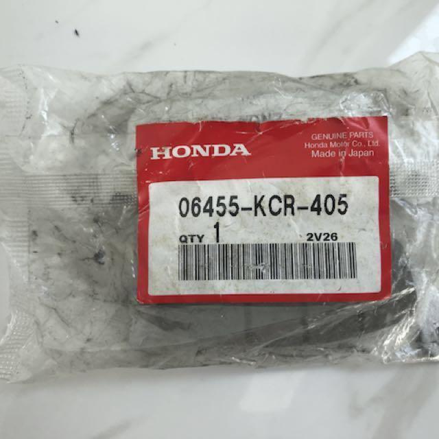 NC750X Front Brake Pads (Honda OEM), Motorbikes, Motorbike Accessories On  Carousell