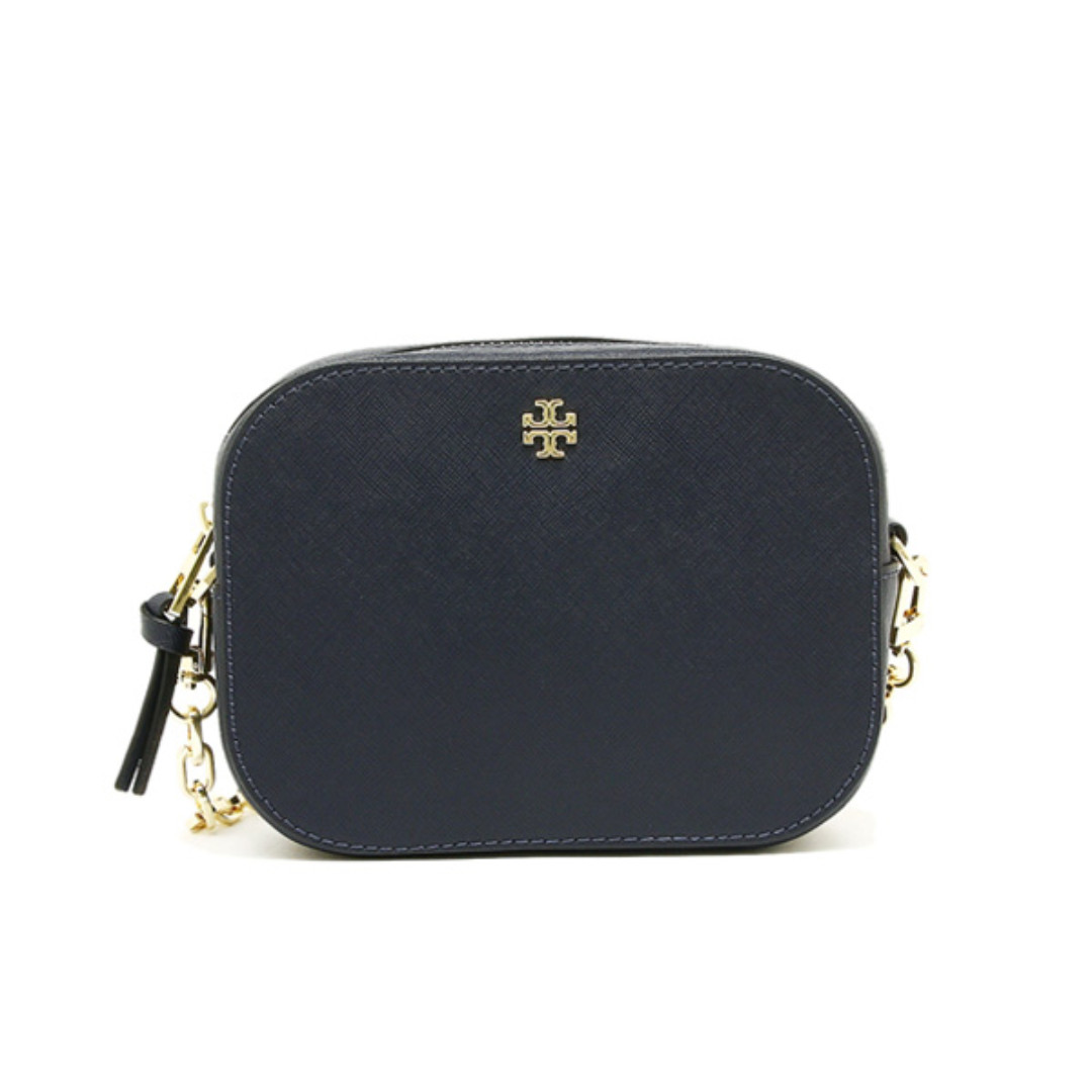 5a46bebbb07 NEW ARRIVAL Tory Burch Emerson Rounded Crossbody Bag Tory Navy, Luxury,  Bags & Wallets on Carousell