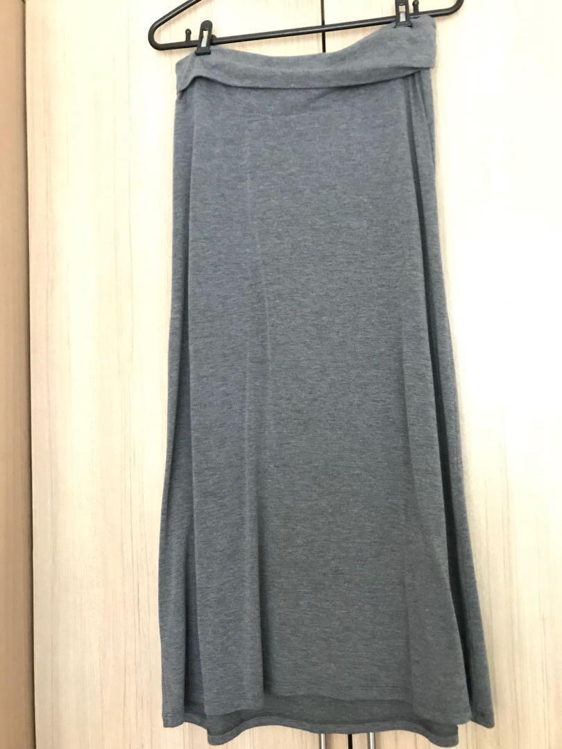 77182b3e02f85 Old Navy Maternity Maxi Skirt, Babies & Kids, Maternity on Carousell