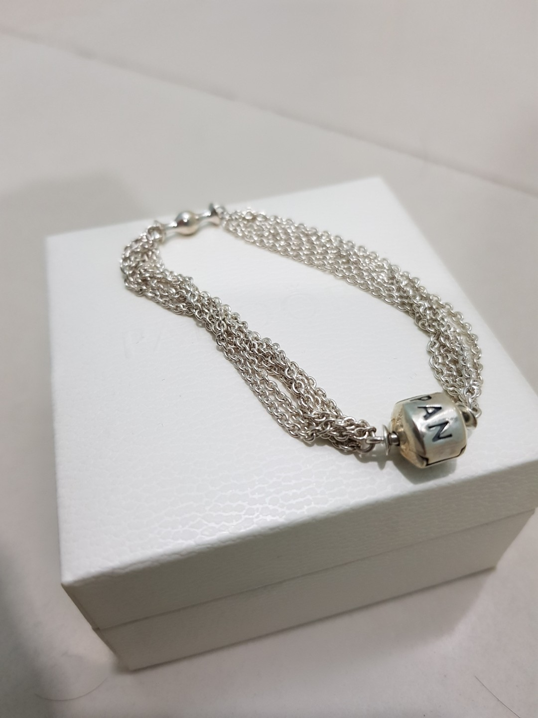 d9c7f894e Sterling Silver Multi Strand One Clip Station 591701 Bracelets -> Source.  Photo. Pandora ...