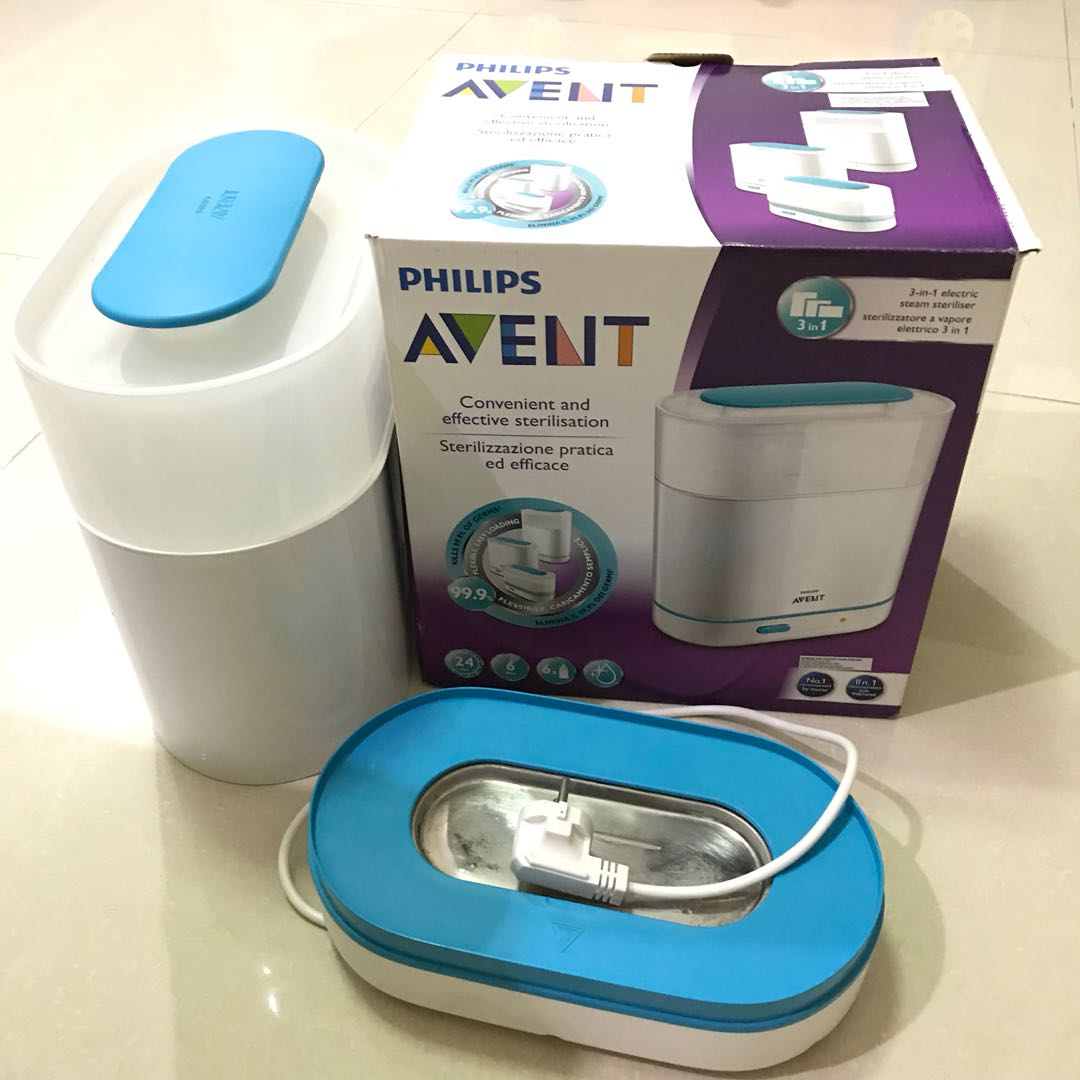 Alat Sterilisasi Philips AVENT 3 in 1 Electric Steam Baby Sterilizer. Source · photo photo