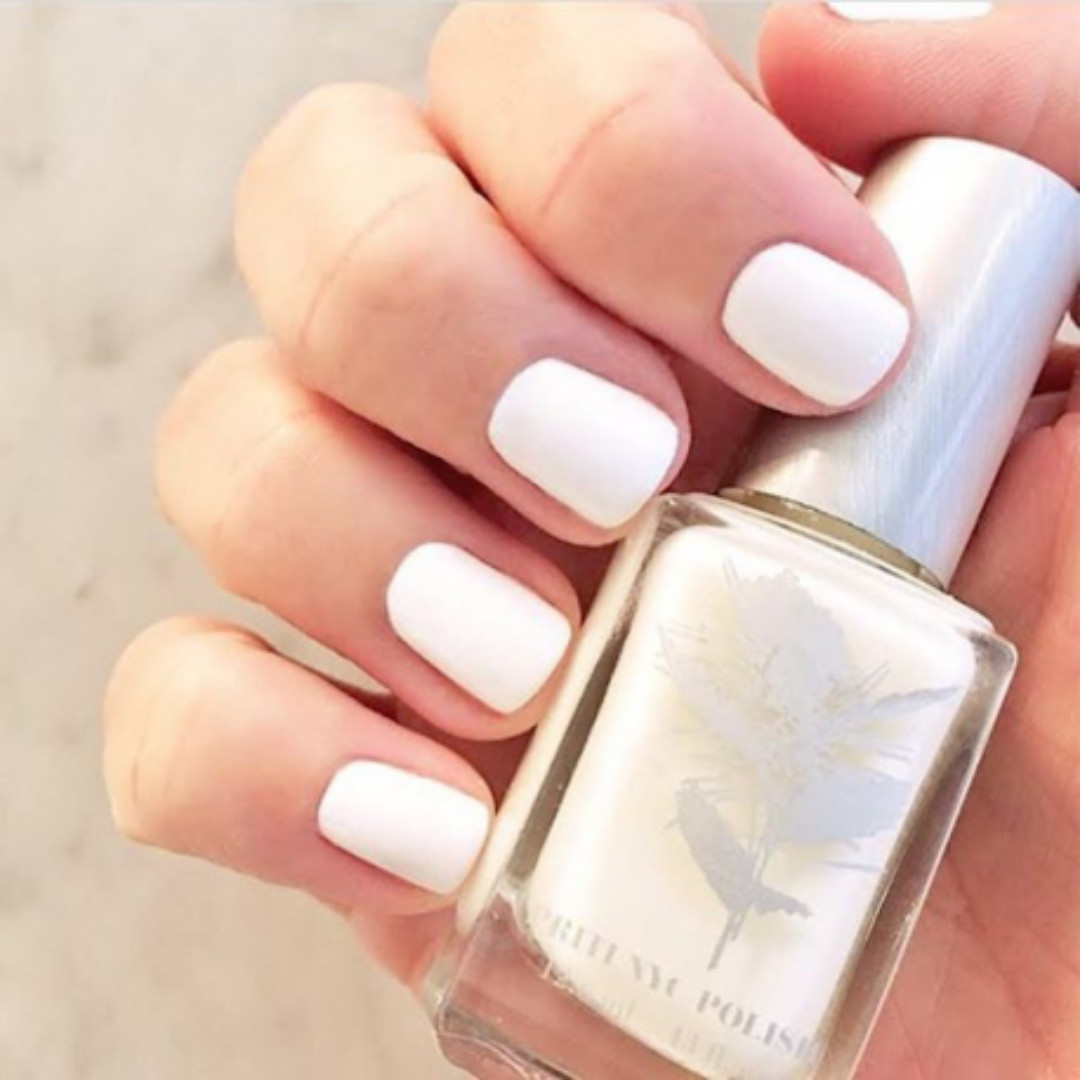 PRITI NYC Non-Toxic White Nail Polish 5 Free, Health & Beauty, Hand ...