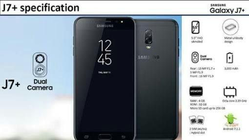 Samsung Galaxy J7 Plus Bisa Dikredit Proses Cepat Telepon Seluler Tablet Ponsel Android Di Carousell