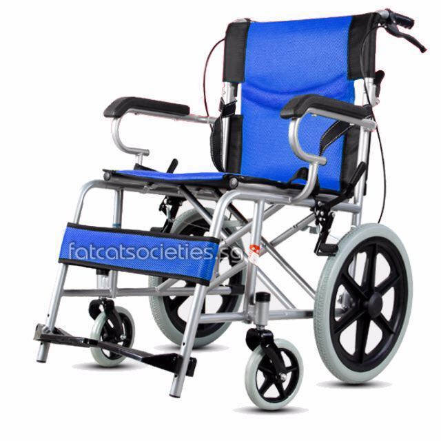 small Compact Light Weight Pusher Wheelchair