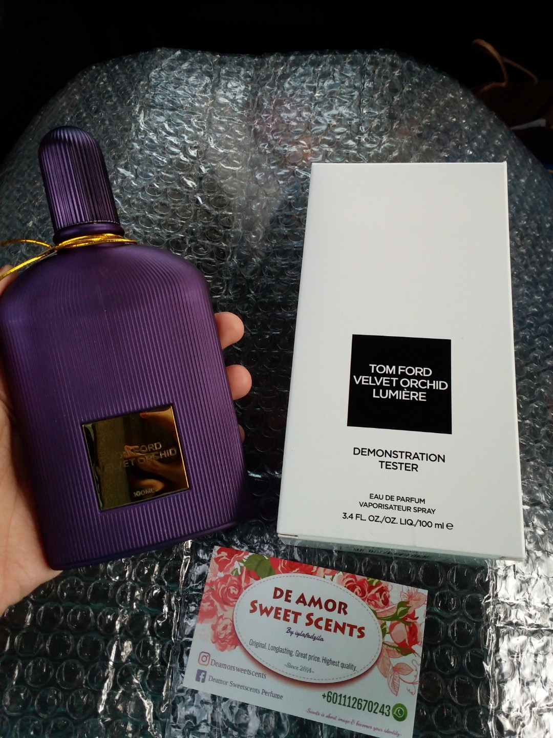 05a3b6e1df79b Tomford velvet orchid lumiere Tester, Health & Beauty, Perfumes, Nail Care,  & Others on Carousell