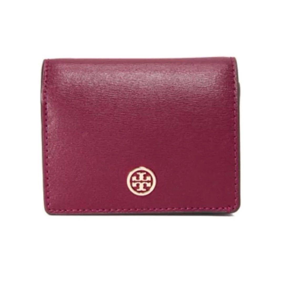 a69b70f66b11 Tory Burch Parker Foldable Mini Wallet (Brand New)