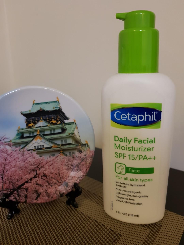 Used Cetaphil Daily Moisturizing Facial Lotion Health Beauty Moisturizer Skin Bath Body On Carousell
