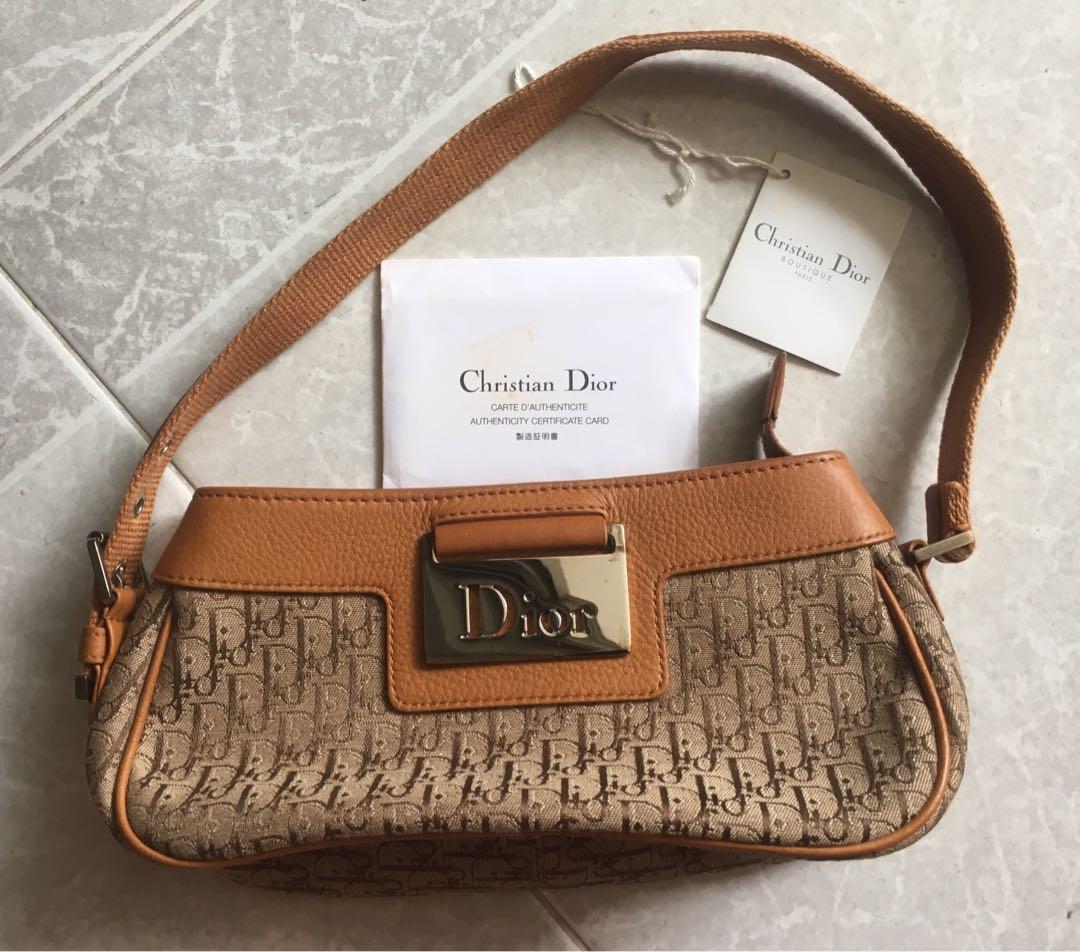 e5d41d9a5be4 Vintage Dior Monogram Evening Bag