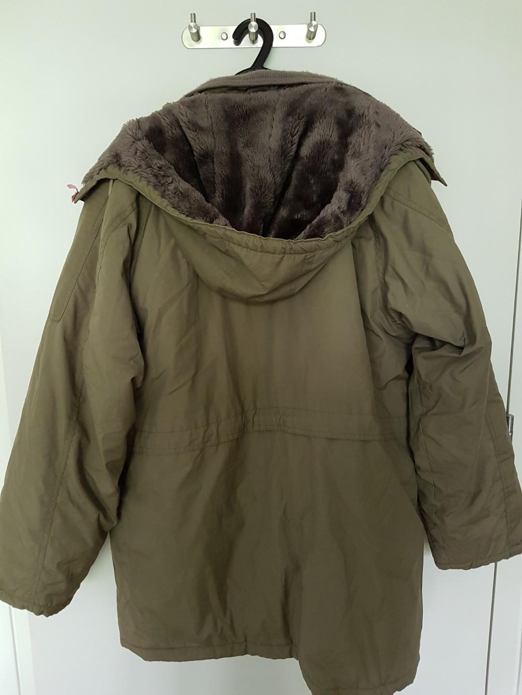 Winter jacket khaki colour