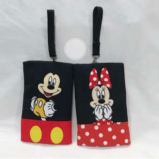 🚚 CUSTOM TISSUE COVER mickey mouse minnie mouse