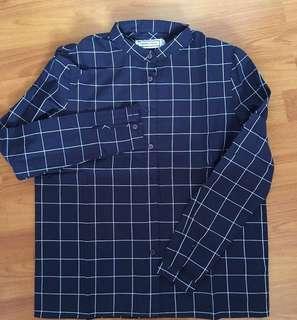 ttr grid shirt