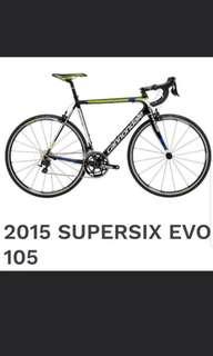 Supersix Evo 105 high grade bicycle