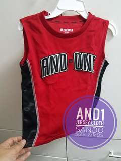 And1 sando jersey top