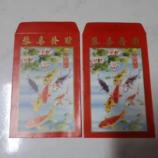 Angpow Red Packet Chinese New Year Vintage