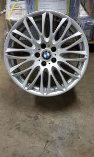 Original bmw rim 20 inch for 7 series E65 E66 and 5 series E60