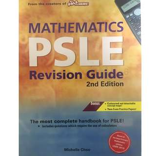 [PO] PSLE MATHS REVISION BOOK (2nd edition)