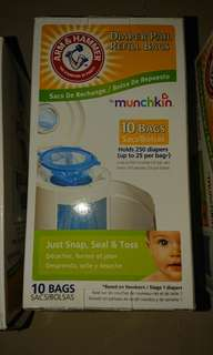 Diaper Pail Refill Bags by Munchkin - Arm & Hammer