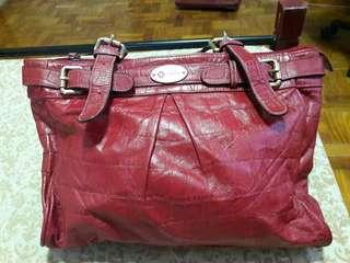 Miss MR Red Tote Bag