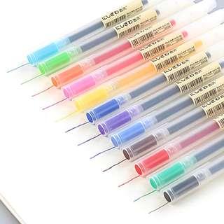 [Set of 5} Japanese Colorful Gel Pen 0.5mm