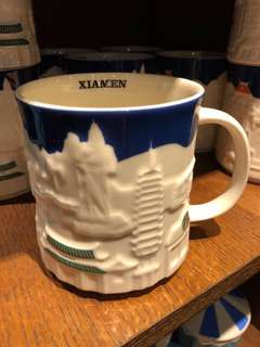 Starbucks Xiamen relief ,YAH & icon mug