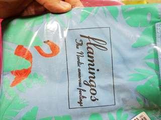 Flamingo cooler bag