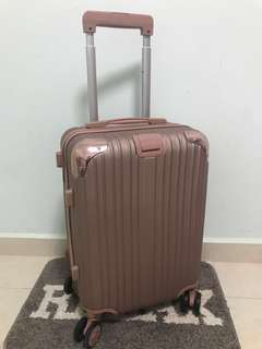 """Luggage Rose Gold {New}20"""""""