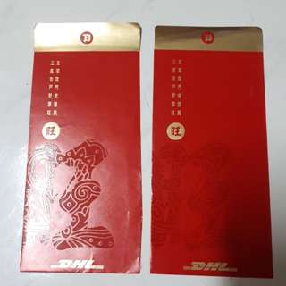 Angpao Red Packet Chinese New Year DHL