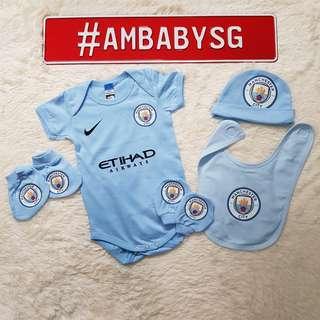 *2017/18* Manchester City Home Newborn Set